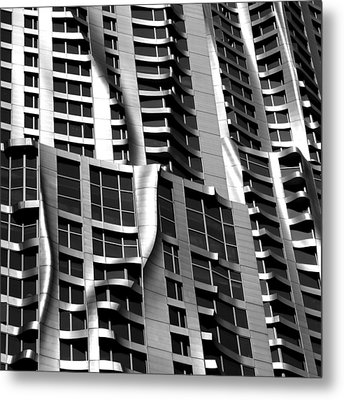 Beekman Tower Detail Metal Print by Andrew Fare