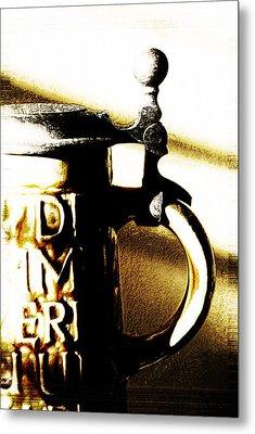 Beer Stein Metal Print by Simone Hester