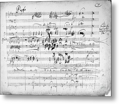 Beethoven: Ghost Trio Metal Print by Granger