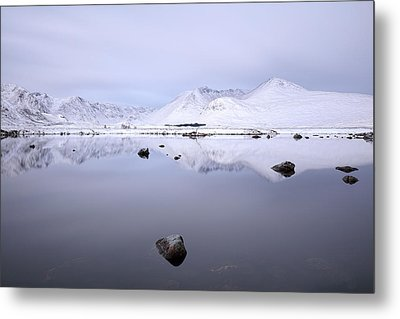 Metal Print featuring the photograph Before Sunrise, Glencoe by Grant Glendinning