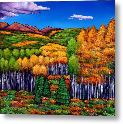 Before The Snowfall Metal Print by Johnathan Harris