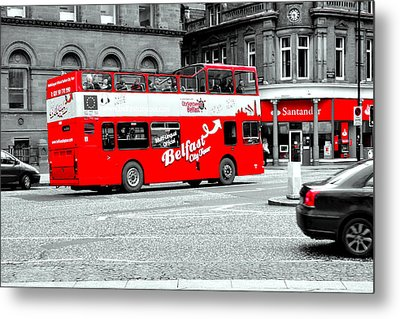 Belfast City Tour Metal Print