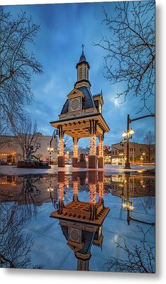 Metal Print featuring the photograph Bell Tower  In Beaver  by Emmanuel Panagiotakis