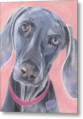 Metal Print featuring the painting Bella by Jamie Frier