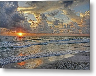 Beloved - Florida Sunset Metal Print by HH Photography of Florida