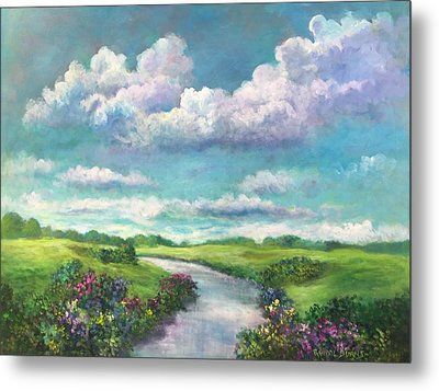 Beneath The Clouds Of Paradise Metal Print