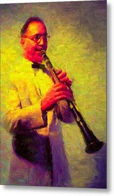 Benny Goodman Metal Print by Caito Junqueira