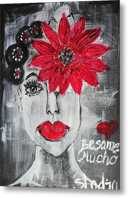 Besame Mucho Metal Print by Sladjana Lazarevic