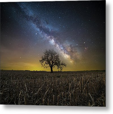 Metal Print featuring the photograph Beyond by Aaron J Groen