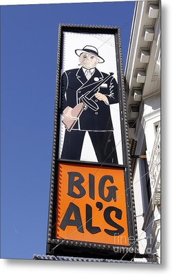 Metal Print featuring the photograph Big Al by Denise Pohl