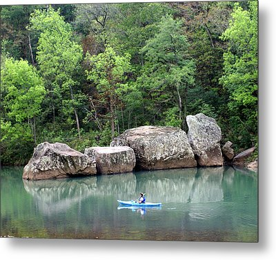 Big Piney Creek 1 Metal Print by Marty Koch