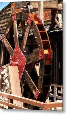 Big Wheels Keep On Turning Metal Print by LeeAnn McLaneGoetz McLaneGoetzStudioLLCcom