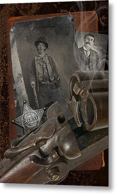 Billy And Pat Metal Print by Robert Hudnall