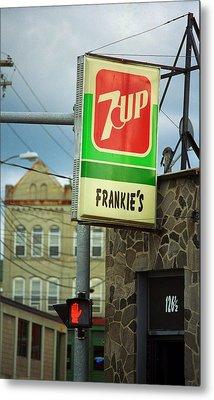 Binghamton New York - Frankie's Tavern Metal Print by Frank Romeo