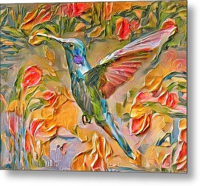 Bird Of Paradise Metal Print by Yury Malkov