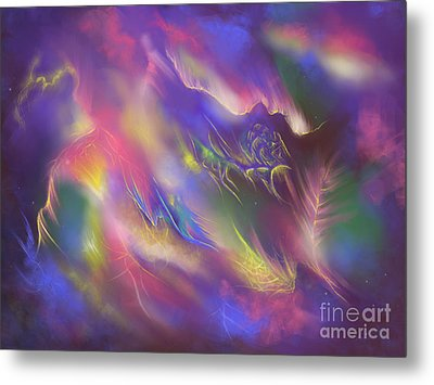 Birth Of The Phoenix Metal Print by Amyla Silverflame