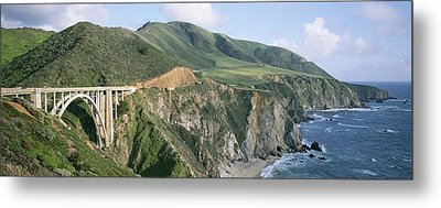 Bixby Bridge Over Bixby Creek Metal Print by Rich Reid