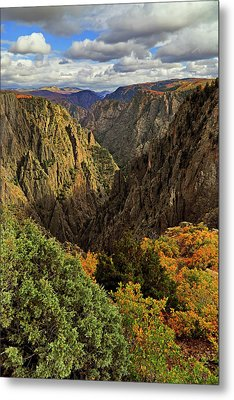 Metal Print featuring the photograph Black Canyon Of The Gunnison - Colorful Colorado - Landscape by Jason Politte