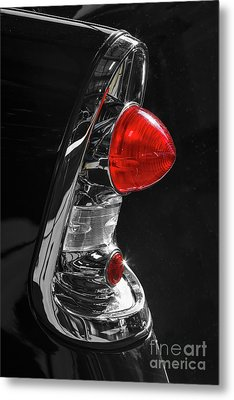 Metal Print featuring the photograph Black '56 by Dennis Hedberg