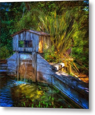 Metal Print featuring the photograph Blakes Pond House by Thom Zehrfeld