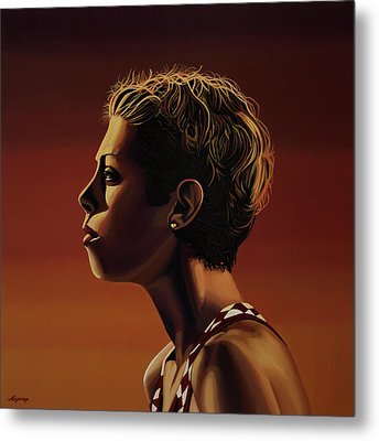 Blanka Vlasic Painting Metal Print by Paul Meijering