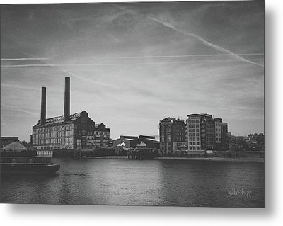 Bleak Industry Metal Print by Joseph Westrupp