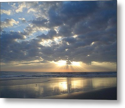 Blessed New Day Metal Print