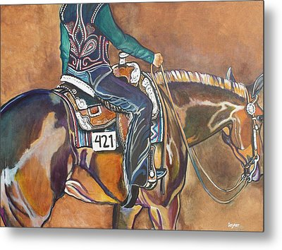 Bling My Ride Metal Print by Stephanie Come-Ryker