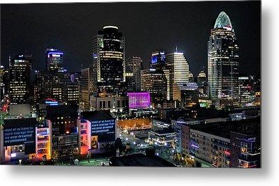 Blink Cincinnati - Skyline  Metal Print
