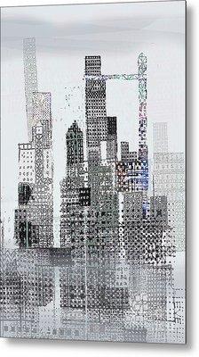 Blip 2  Metal Print by Andy  Mercer