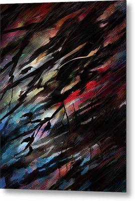 Bloody Rain Metal Print by Rachel Christine Nowicki
