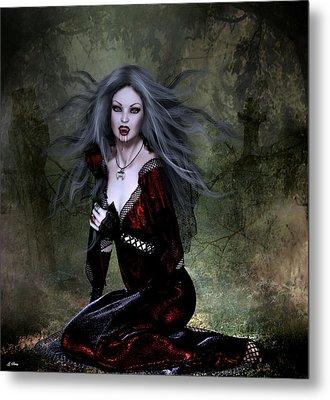 Bloody Valentine Metal Print by G Berry