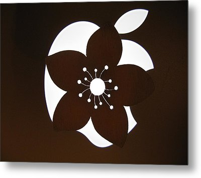 Blooming Apple Mac Metal Print by Ausra Huntington nee Paulauskaite