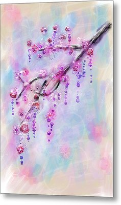 Blossom Cherry Branch Metal Print