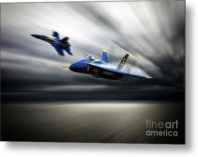 Blue Angel 5 Metal Print by J Biggadike