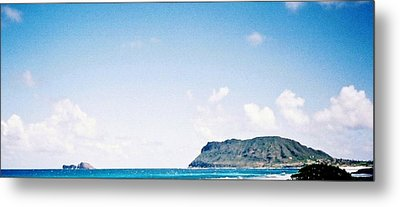 Blue Hawaii Metal Print by Judyann Matthews