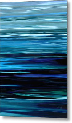 Blue Horrizon Metal Print by Rabi Khan