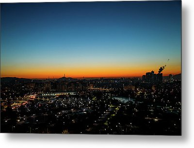 Blue Hours Metal Print by Hyuntae Kim