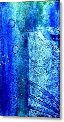 Blue Iv Metal Print