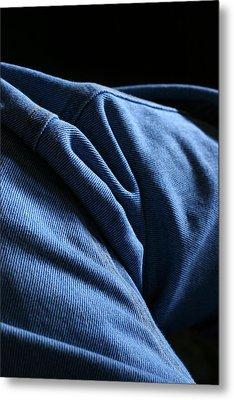 Blue Jeans 0261 Metal Print by Steve Augustin