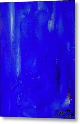 Blue Lust Metal Print