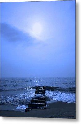 Blue Sunrise Metal Print