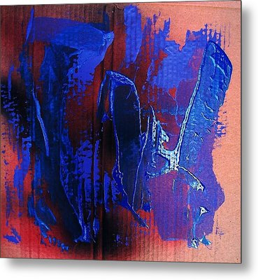 Blue Tornado Metal Print by Bruce Combs - REACH BEYOND