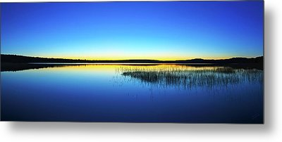 Blue Twilight 1 Metal Print by ABeautifulSky Photography