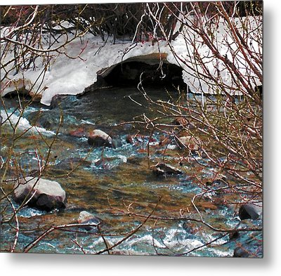 Metal Print featuring the photograph Blue Water Creek by Tammy Sutherland