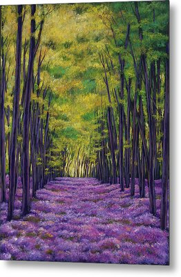 Bluebell Vista Metal Print by Johnathan Harris
