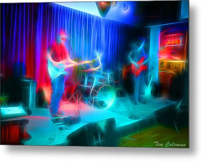 Blues Country Metal Print by Tim Coleman