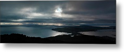 Bluff Panorama Metal Print