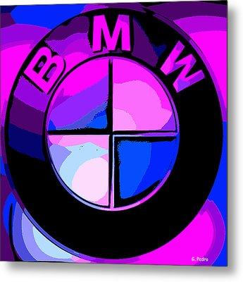 BMW Metal Print by George Pedro