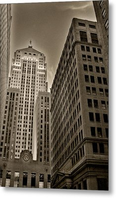 Board Of Trade Metal Print by Anthony Citro